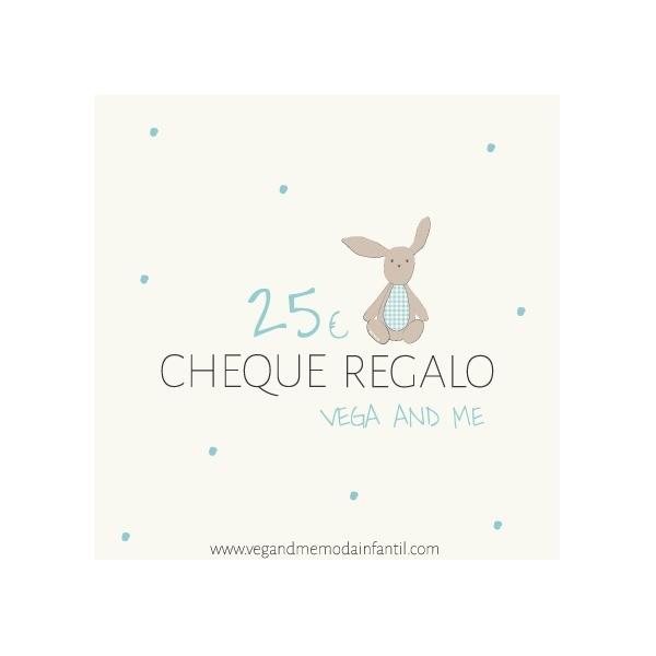CHEQUE REGALO VEGA &ME MODA INFANTIL
